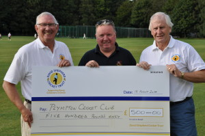 Plympton cheque