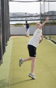 Practice makes perfect – in the nets at North Devon CC