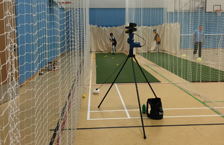 Flashback! Shaldon youngsters at last winter's indoor nets