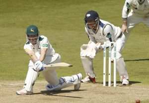 Chris Read batting for Notts - Photo: www.ppauk.com