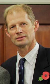 Outgoing DSCT chairman Mark Ansell